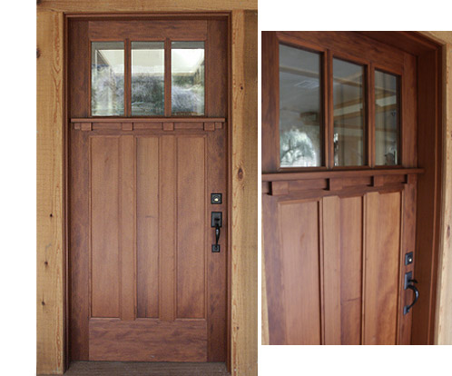 Arts and crafts doors for Arts and crafts door